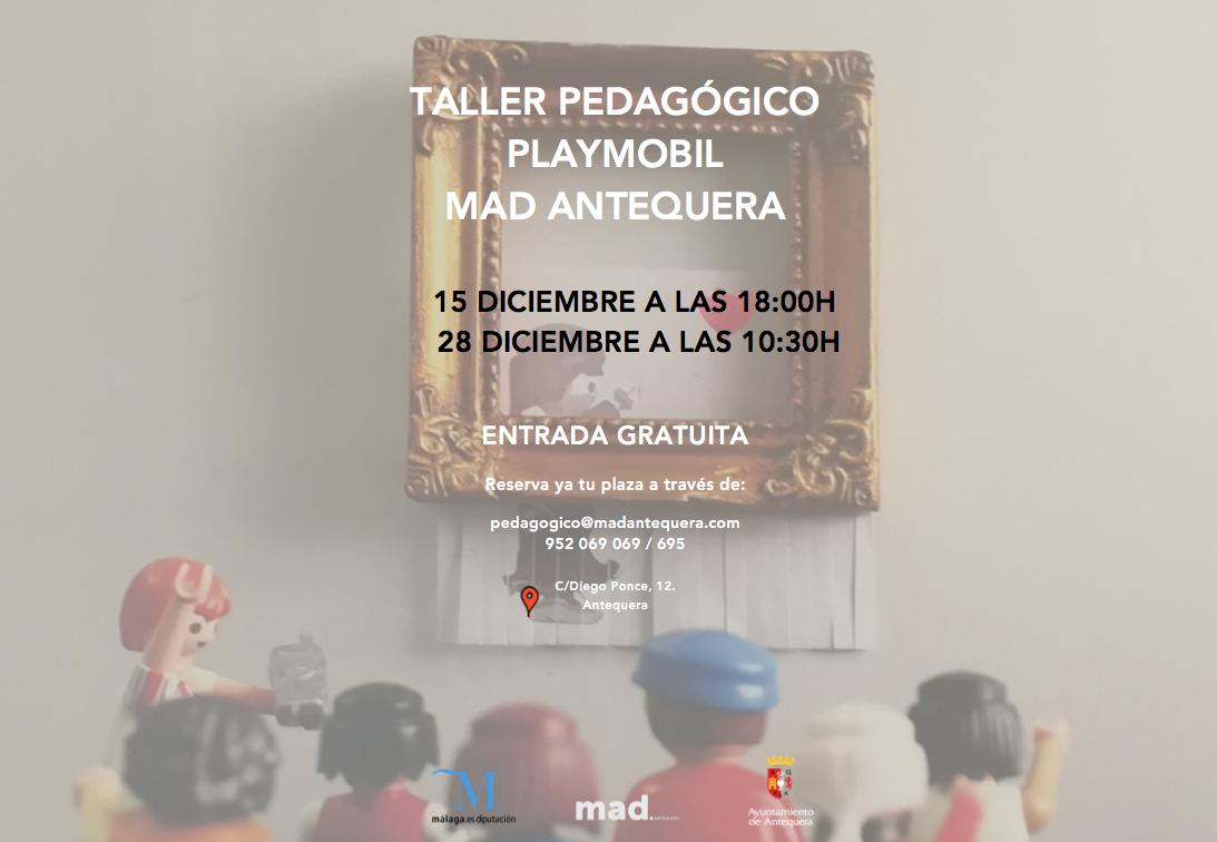 Taller Playmobil MAD
