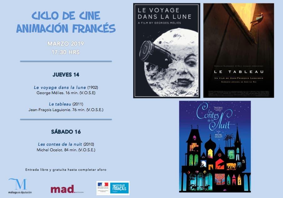 ciclo cine francés de animación